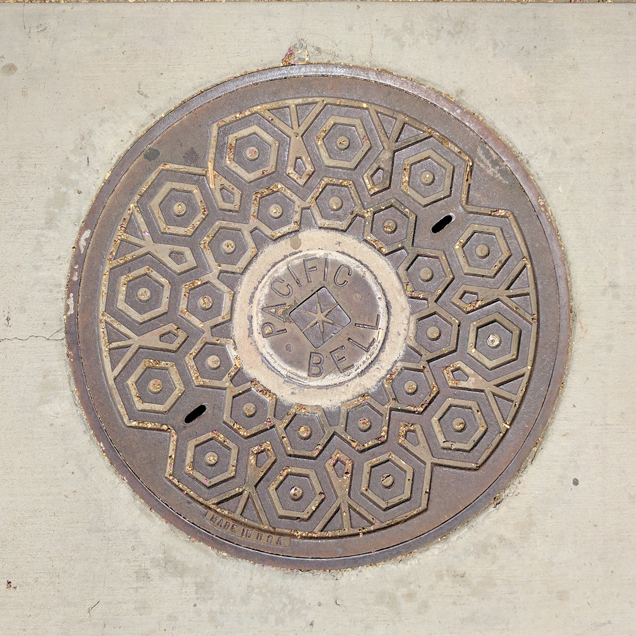 pacific bell utility cover