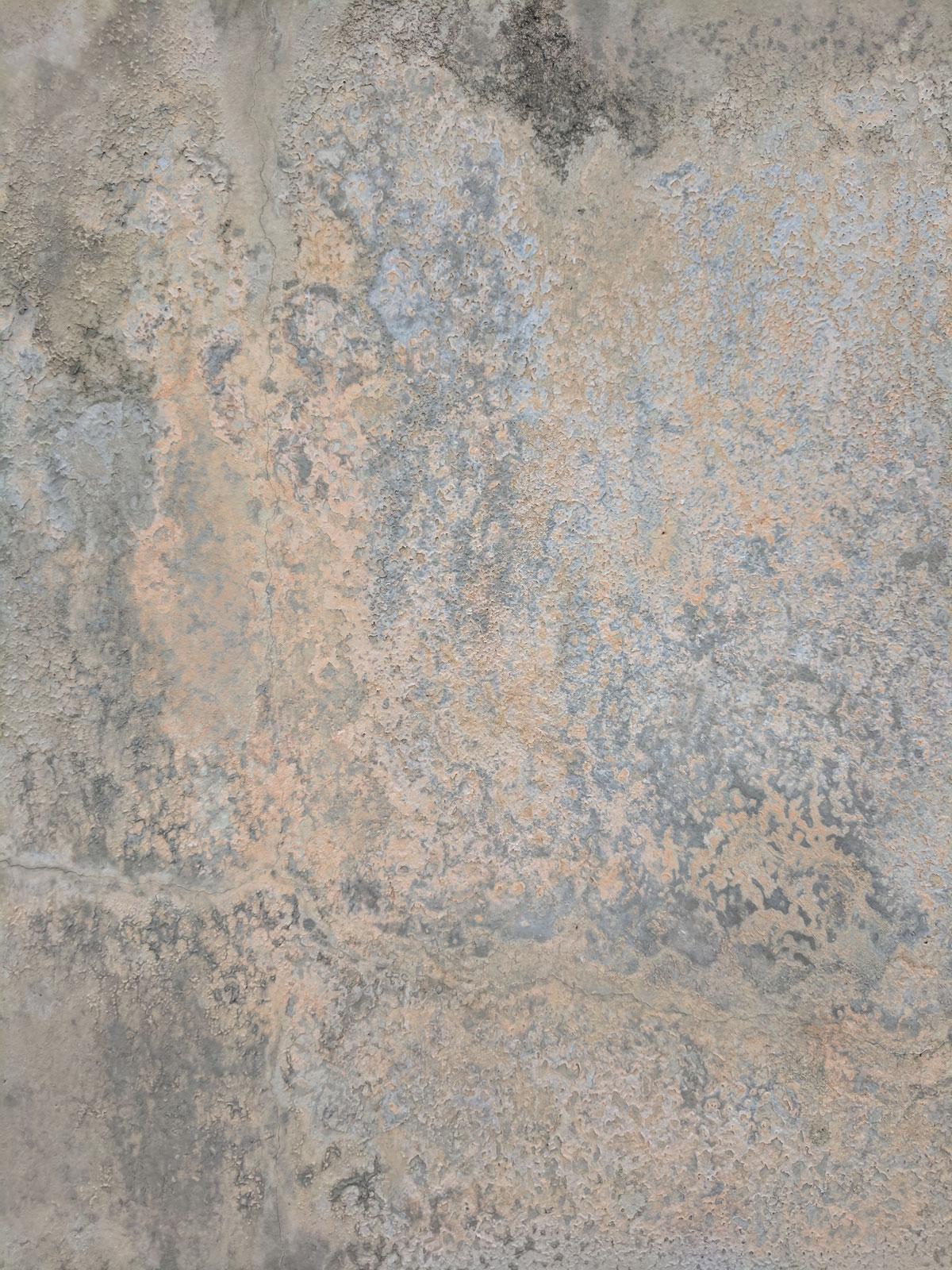Greys neutral water damaged wall